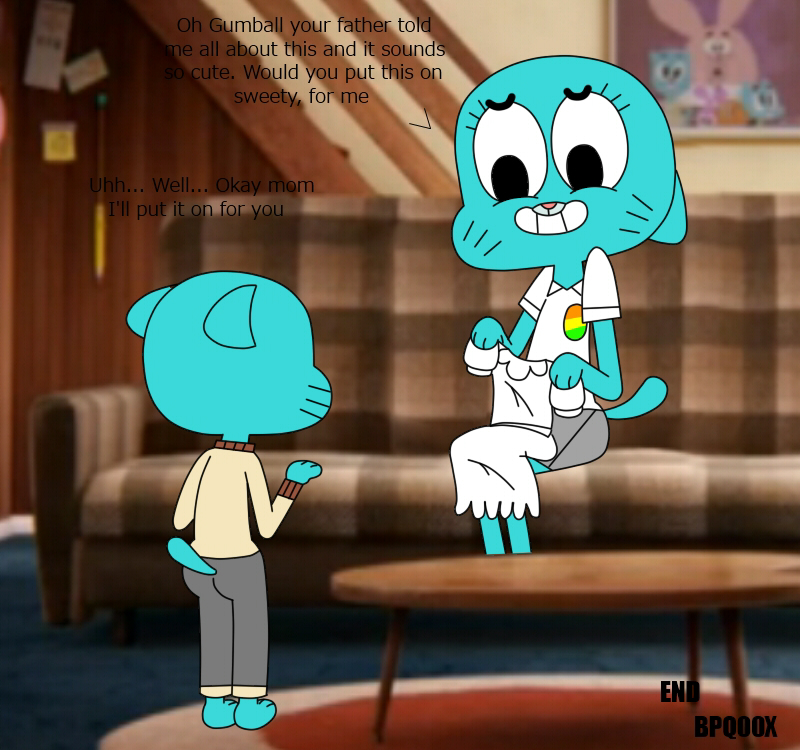 world characters of gumball amazing the Shoujo and the back alley