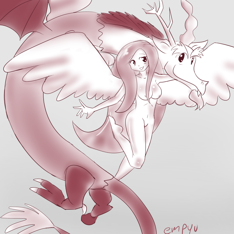 discord fluttershy little pony my and Hung like a horse xxx