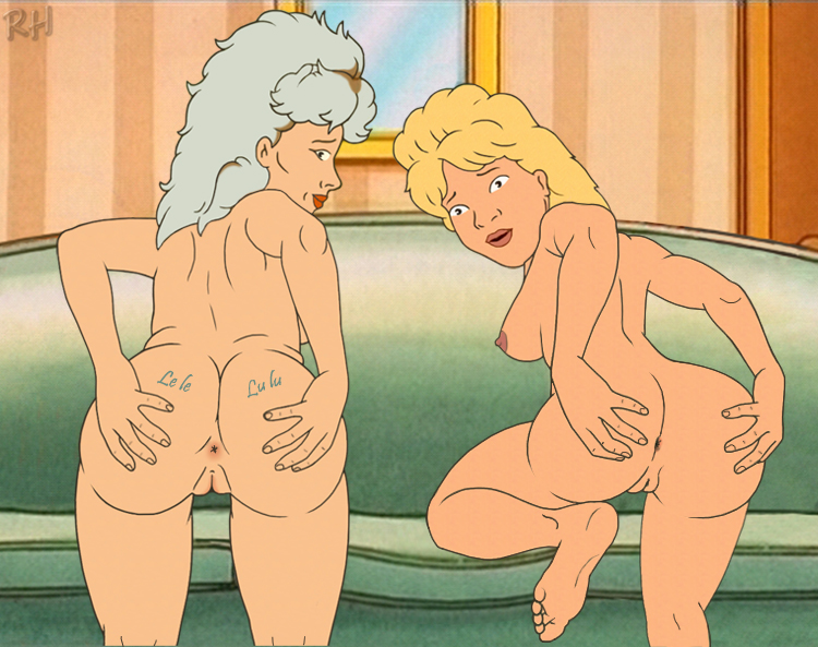 luanne the platter hill king of nude Naked lois from family guy