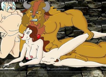 beauty porn game beast and the My little pony chrysalis porn
