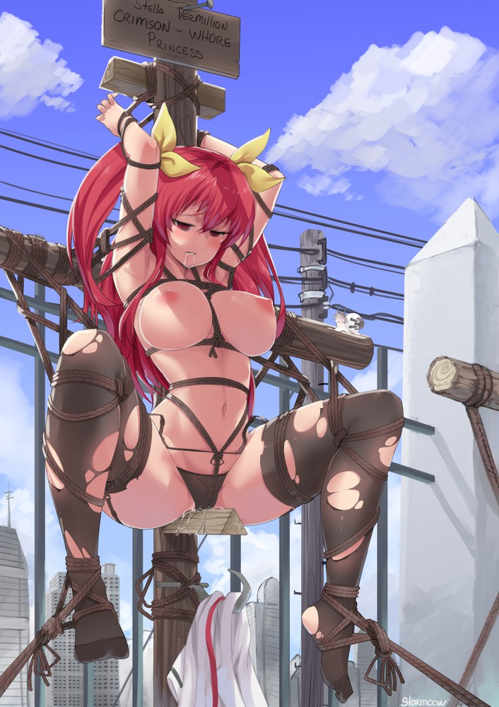 rakudai nude no cavalry kishi Loonette from big comfy couch