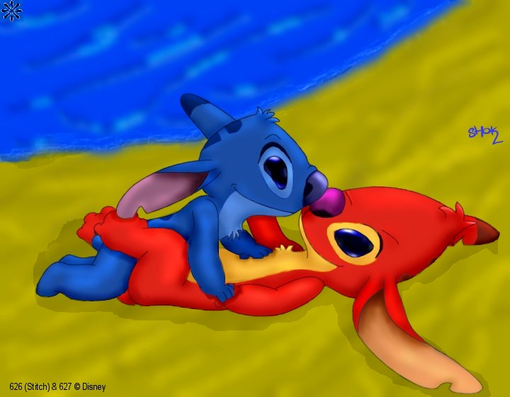 lilo experiment 420 and stitch X-men angel dust