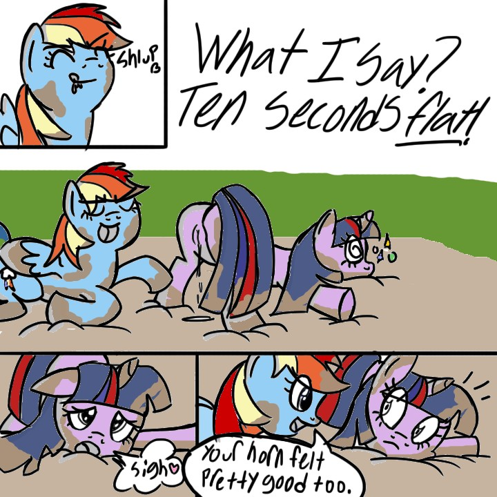 dash and rainbow sunset shimmer Erza from fairy tail naked