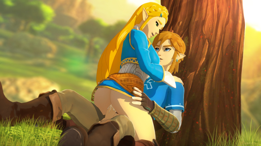 wild breath of underwear the link Pee is stored in the balls sonic