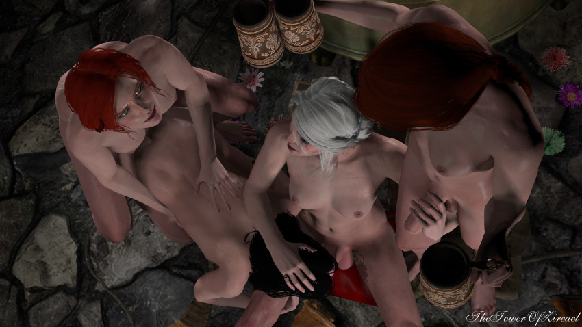 elder witcher unseen 3 the Jessica rick and morty nude