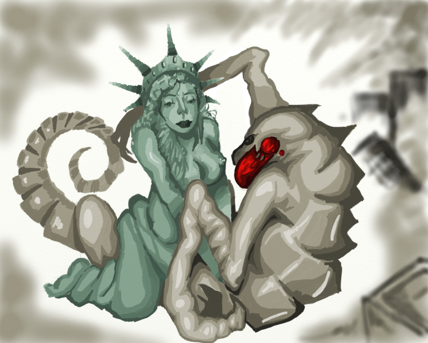 statue hat liberty of pussy Black ops 2 zombies porn