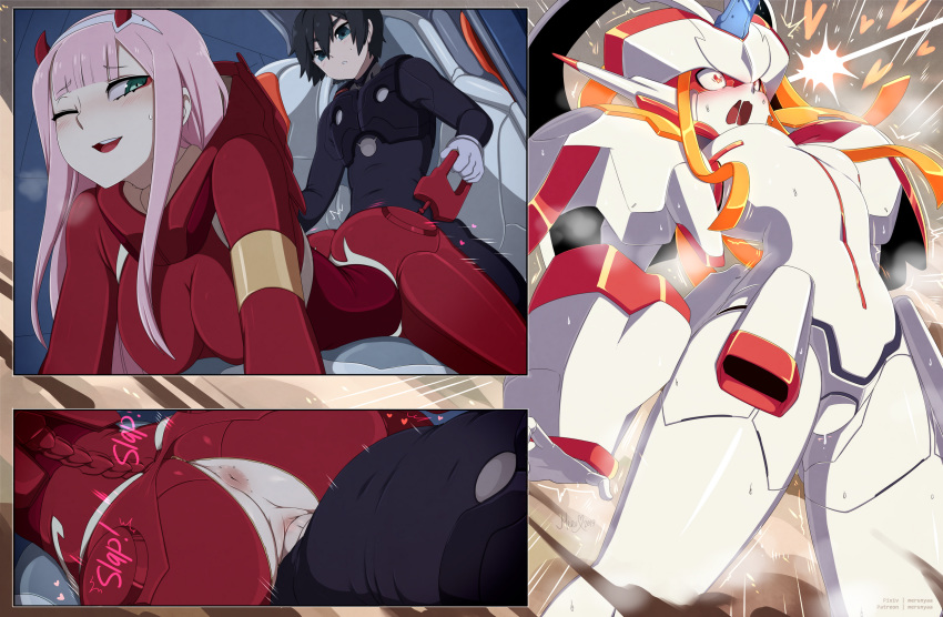 darling the hiro in franxx Monsters of the sea 3