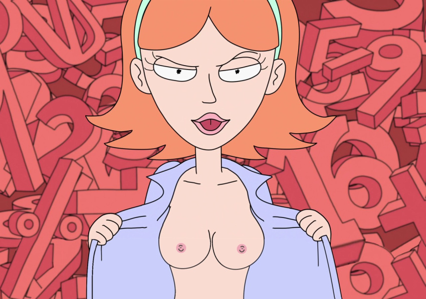 naked morty from and summer rick Tarot witch of the black rose